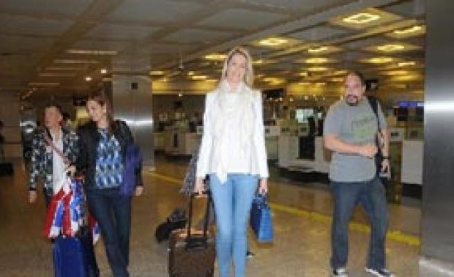 En Uzun Bacaklı Manken İstanbul'da