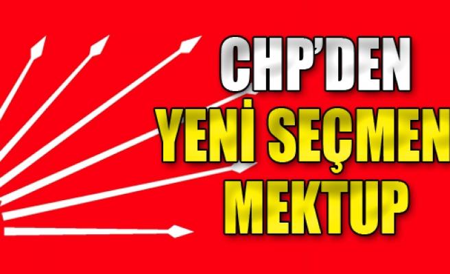 CHP'den 'Yeni Seçmene' Mektup
