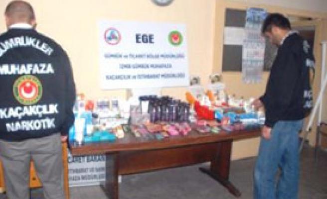 İzmir Polsinden Kaçak İlaç Operasyonu