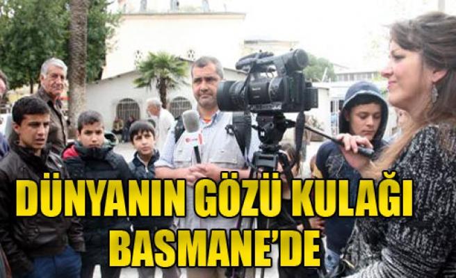 Basmane'ye Yabancı Basın Akını