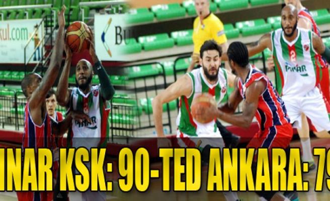 P.Karşıyaka:90 - TED Ankara Kolejliler:79