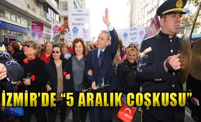 İzmir'de '5 Aralık Coşkusu'