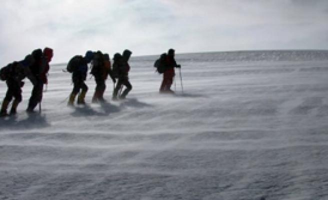 Ukraynalı Dağcılar Bulundu