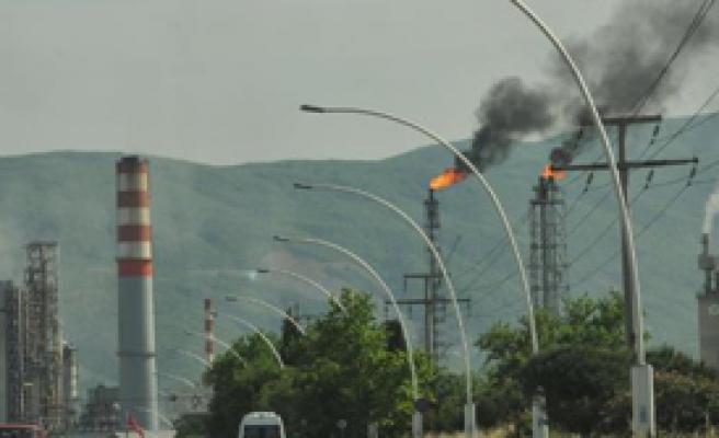 Tüpraş'ta Yangın Paniği!