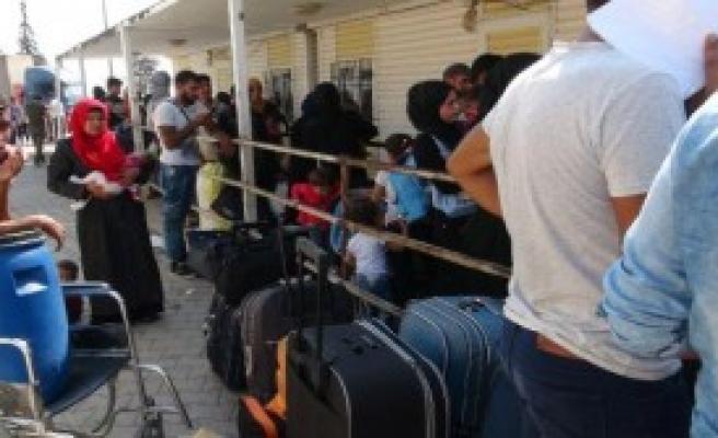 26 Bin 931 Suriyeli, Kesin Dönüş Yaptı