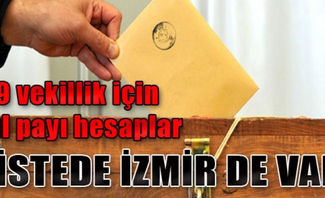 Listede İzmir de Var