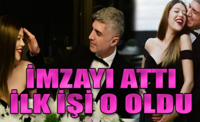 Feyza Aktan imzayı attı hem ardından