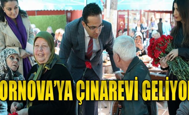 Bornova'ya Çınarevi Geliyor