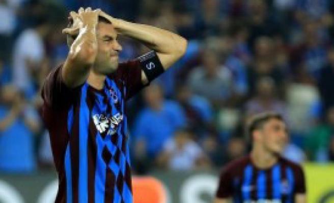 Trabzonspor'da Burak Yılmaz Şoku!