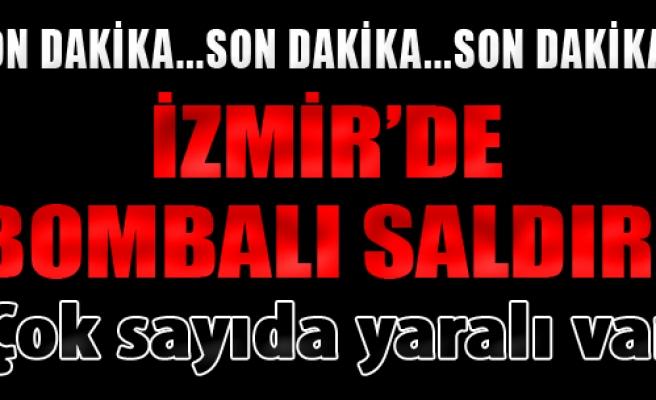 İzmir'de Cezaevi Servisinin Geçişi Sırasında Patlama