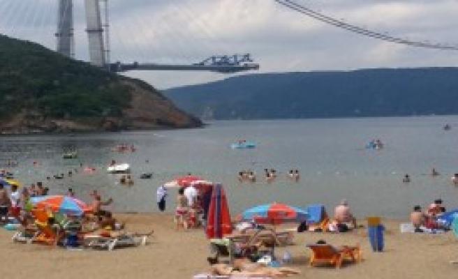 Marmara Otoyolu'nun İlk Asfaltlamaları Yapıldı