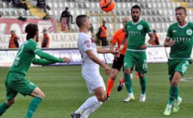 Elazığspor-Giresunspor: 1-2