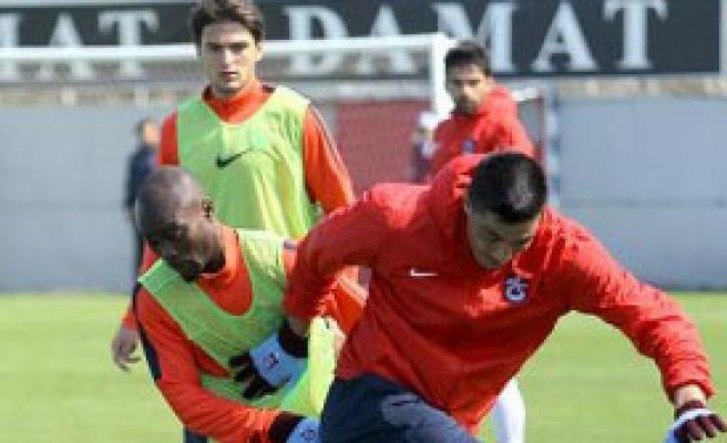 Trabzonspor, Sivas Maçına Hazırlanıyor