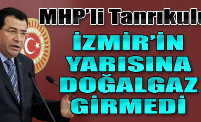 'İzmir'in Yarısına Doğalgaz Girmedi'
