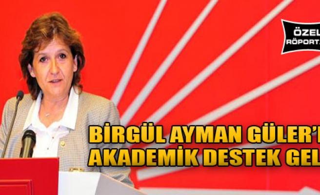 Vekil Güler'e Akademik Destek!