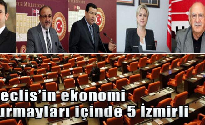 Meclis'in Ekonomi Kurmayları İçinde 5 İzmirli