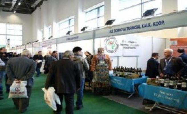 'Bornova' Markası Tarım Fuarı'nda İlgi Gördü
