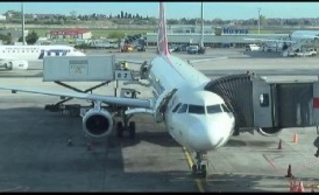 Uçakta Bomba Araması Yapıldı