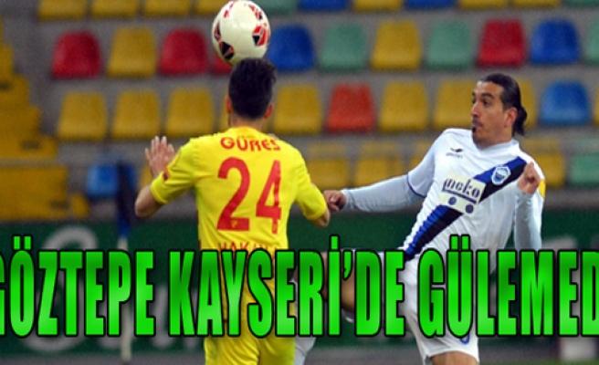 Kayseri Erciyesspor 1-0 Göztepe