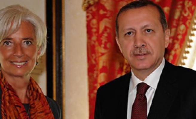 Erdoğan IMF Başkanı İle Görüştü