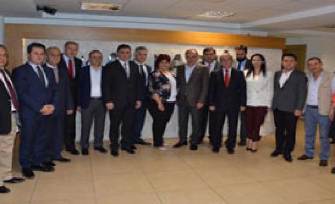 Balkan Vekillerden AK Partiye Ziyaret