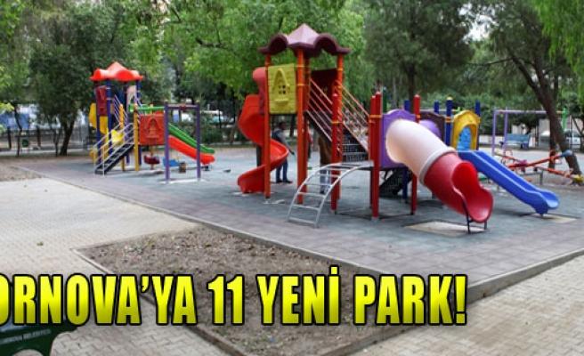 Bornova'ya 11 Yeni Park!