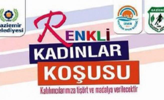 İzmir'de Kadınlara Özel Koşu