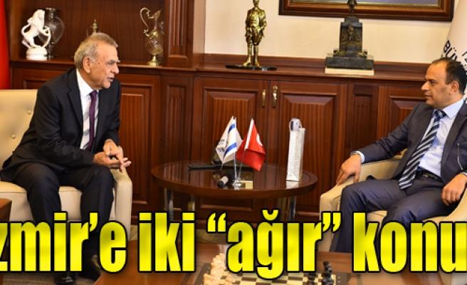 İzmir'e İki 'Ağır' Konuk