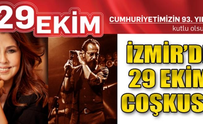 İzmir'de 29 Ekim Coşkusu