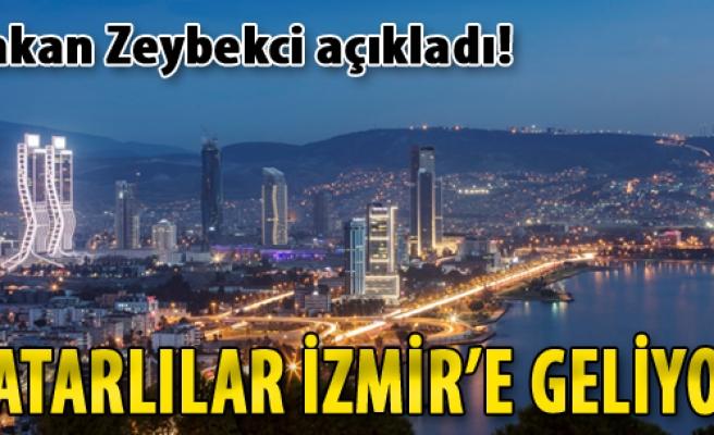 Katarlılar İzmir'e Geliyor