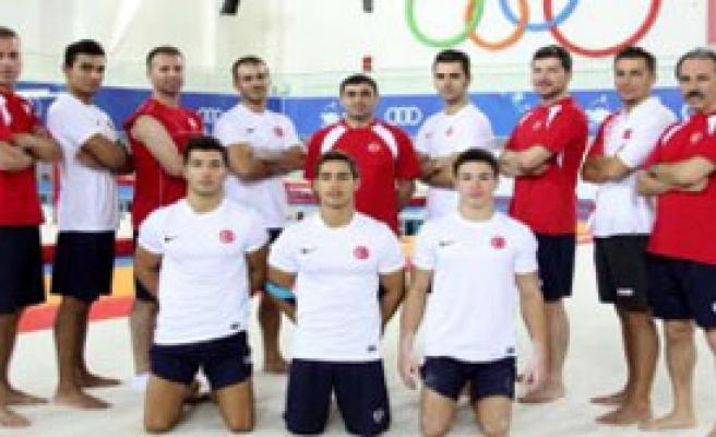 Jimnastik Milli Takımı Mersin'de