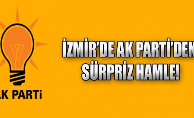 AK Parti'den Sürpriz Hamle!