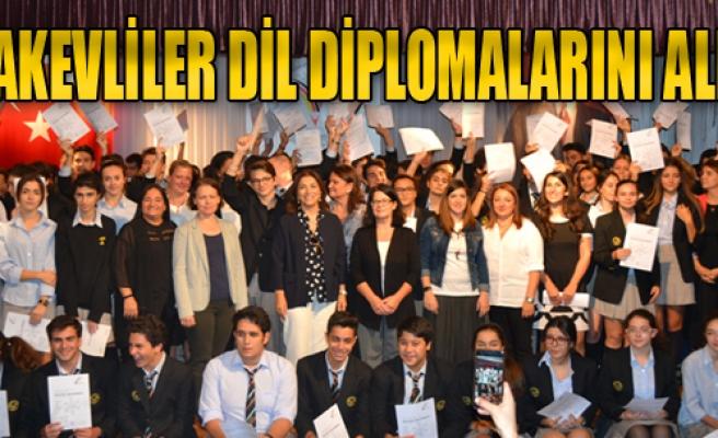 TAKEVliler Dil Diplomalarını Aldı