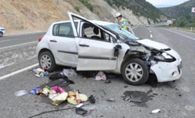 Balayı Dönüşü Kaza