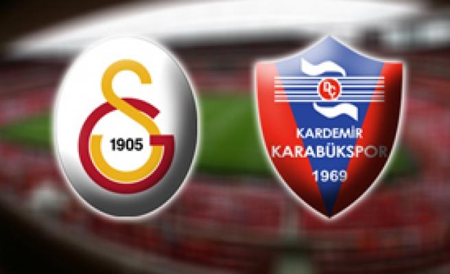 Galatasaray 2 Karabükspor 1