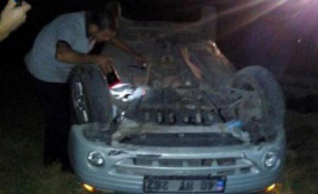 Kahramanmaraş'ta Kaza: 1 Ölü, 4 Yaralı