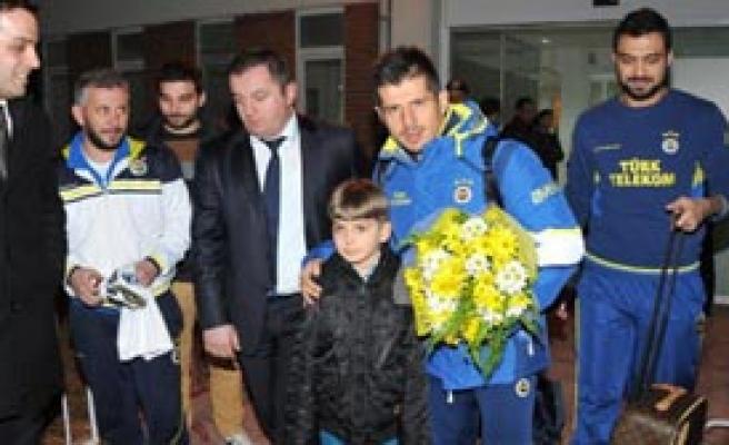Fenerbahçe Kafilesi Eskişehir'e Geldi