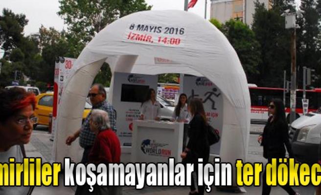 İzmirliler Koşamayanlar İçin Ter Dökecek