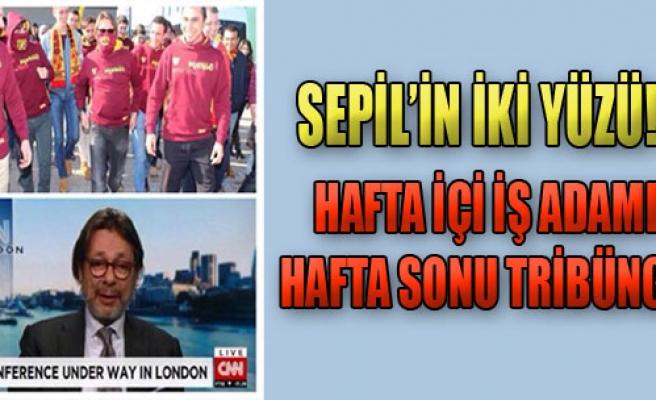 Göztepe Başkanı Sepil'in İki Yüzü