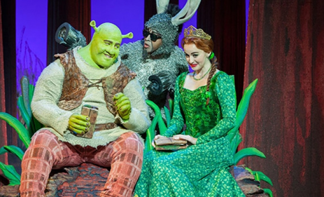 Shrek Müzikali İstanbul'da