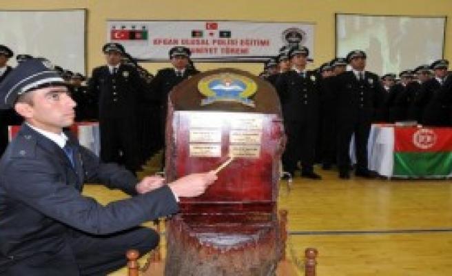 496 Afgan Polis Adayı Daha Mezun Oldu