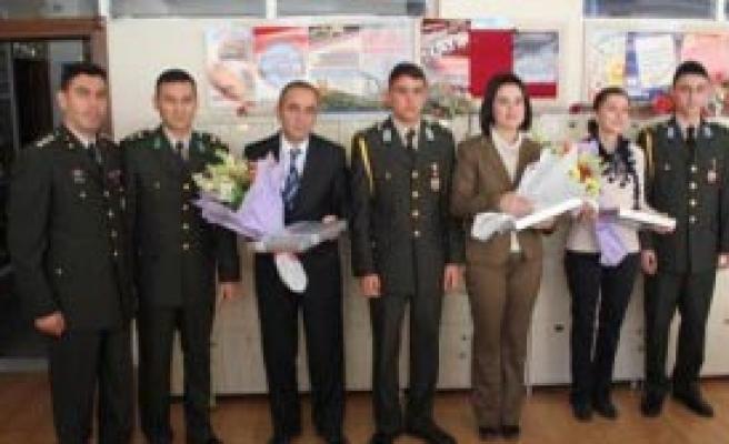 Askeri Lise Öğrencilerinden Ziyaret