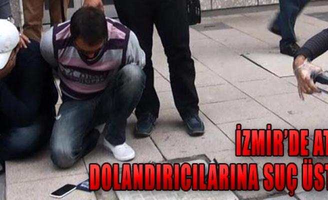 Atm Dolandırıcıları Suç Üstü Yakalandı