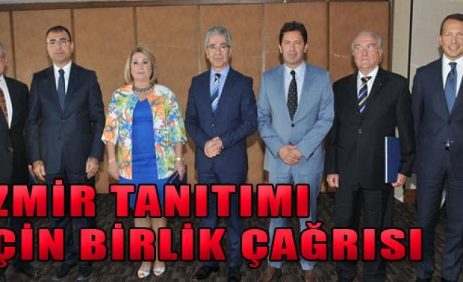 İzmir Tanıtımı İçin Bir Araya Geldiler