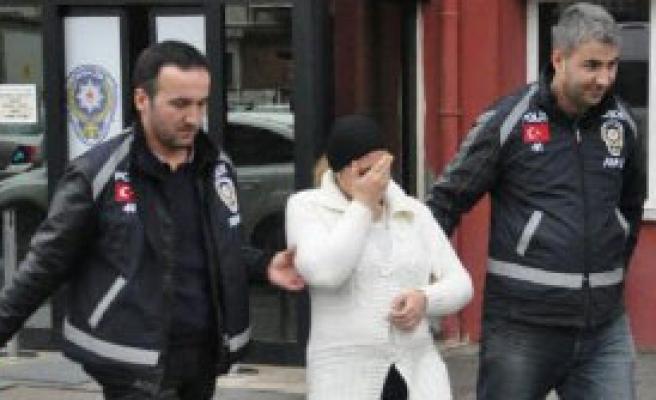 Hamile Kadın Yakalandı