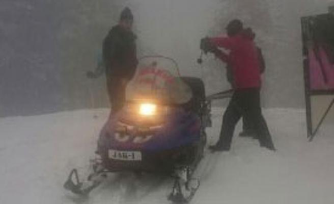 Kayıp Kayakçıyı Jandarma Buldu