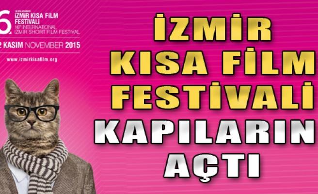 İzmir Kısa Film Festivali Kapılarını Açtı