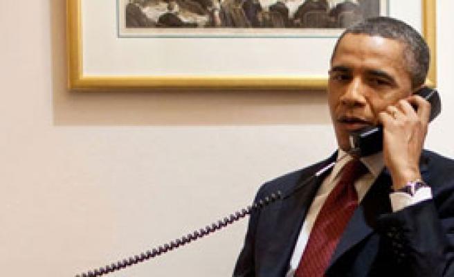 İsrail'e 'İran' Telefonu