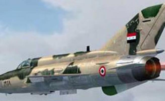 'IŞİD'in Uçakları Havalandı'