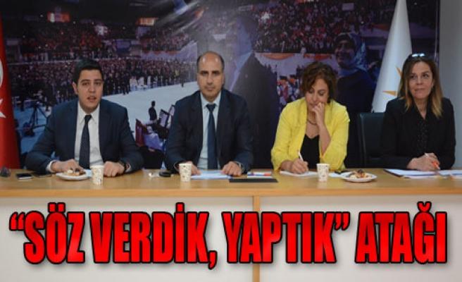 AK Parti'den Kitapçıklı Açılım